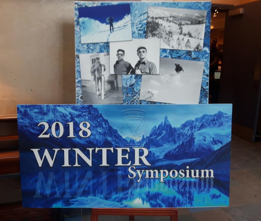 Attending Winter Symposium in Fort Drum - MWCOE